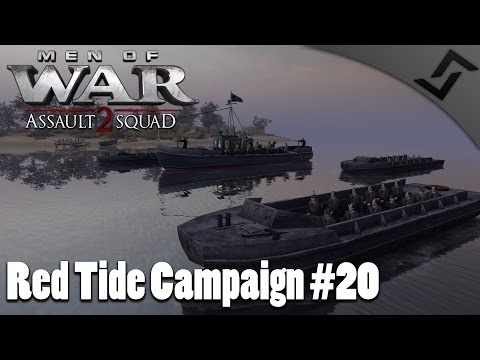 Tigers & Panthers vs Marines - Men of War: Assault Squad 2 - Red Tide Mission 20