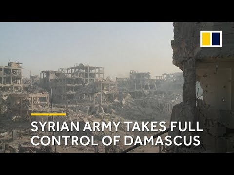 Syrian army takes full control of Damascus