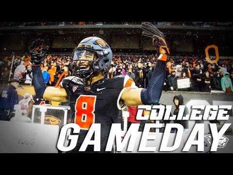 Whats A College Football Gameday Like?! vs OREGON DUCKS