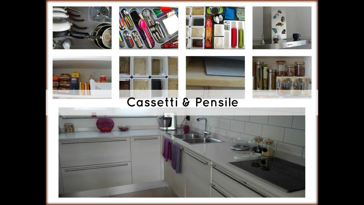 Come Ordinare I Cassetti Del Bagno : Pulizia e organizzazione cucina cassetti e pensile youtube