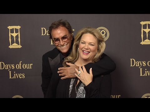 Thaao Penghlis & Leann Hunley Red Carpet Style at Days of Our Lives 50 Anniversary Party