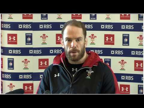 Alun Wyn Jones ANGRY REPLY TO QUESTIONS! | Press Conference | Wales v Scotland | Six Nations