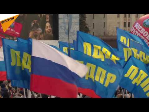 Moscow Celebrates the 3d Anniversary of Crimea's Reunification with Russia