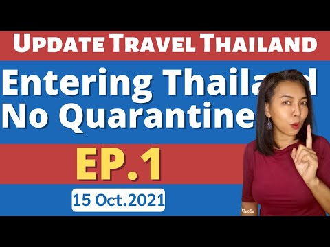 The direction of opening Thailand without a quarantine