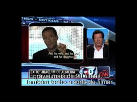 A entrevista de Joaquim de Almeida à CNN