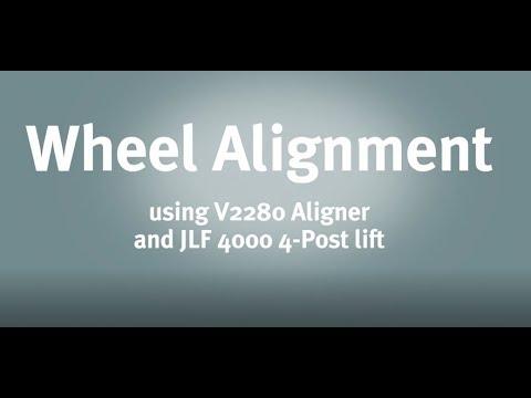 TUTORIAL WHEEL ALIGNER V2280 | John Bean