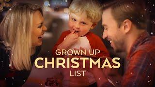 Grown Up Christmas List - Peter Hollens feat. Evynne Hollens #LighttheWorld