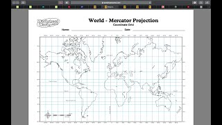 FALL GED ZOOM - WORLD MAPS! / GLOBES! - OCT 1