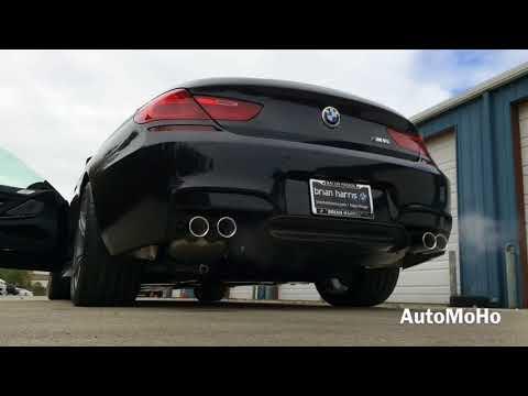 ★ SOUND: 2016 BMW M6 Gran Coupe Exhaust /Start Up /Short Drive ║ Car Crash Compilation