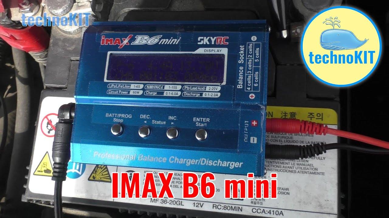imax b6 восстановление свинцового аккумулятора