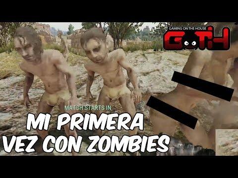 MI PRIMERA VEZ CON ZOMBIES EN PUBG! PUBG Extracto en Español - GOTH