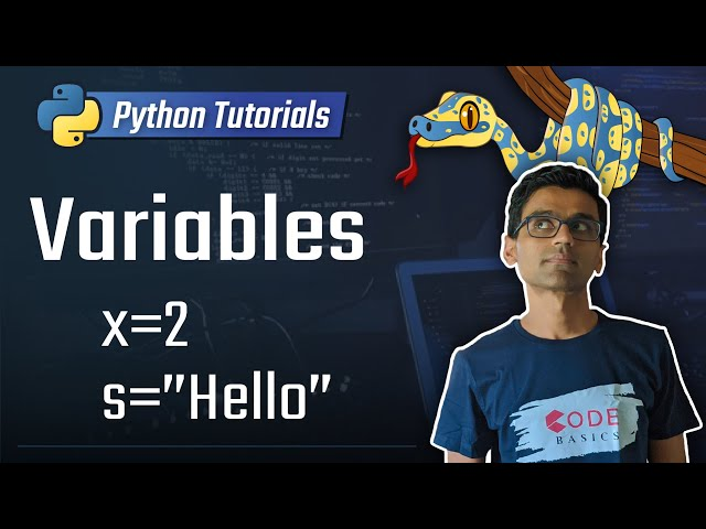 2. Variables in python [Python 3 Programming Tutorials]