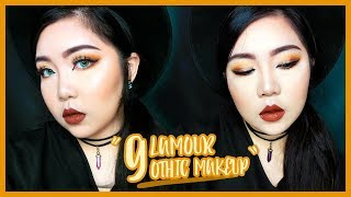 Glamour Gothic Makeup   theChency