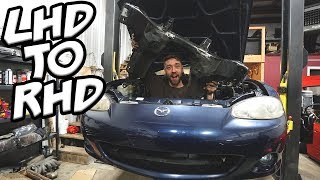 Converting Miata to RHD!