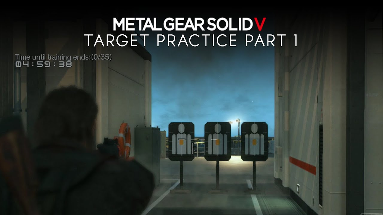 metal gear solid 5 the phantom pain target practice missions