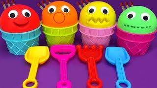 Animal Dance Song | DIY Native From 4 colors play doh ice cream |Nursery Rhymes & Kids Songs