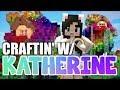💙 Minecraft Rainbow Treehouse! Craftin' w/ Katherine Ep. 15