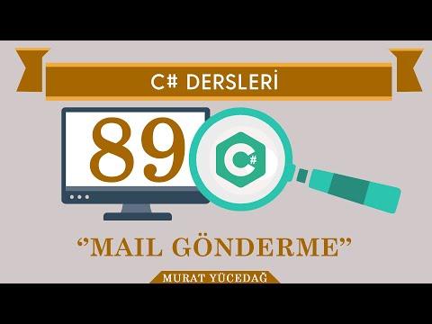 C# Ders 89 Mail Gönderme