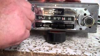 1965 Chevy Nova SS Original AM Radio