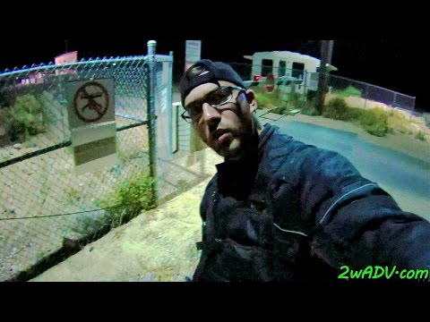 AREA 51 CONFRONTING DANGEROUS CAMO-DUDES @ BACK GATE @ NIGHT!