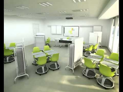 Steelcase Node Animation Classroom - YouTube