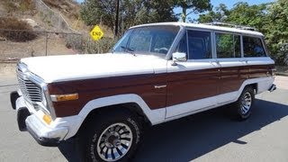 80 Jeep Grand Wagoneer SJ 4x4 360 Cherokee V8 Clean 1 or 2 Owner Start Up & Test Drive...