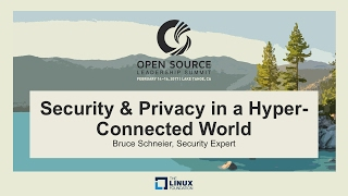 Keynote: Security and Privacy in a Hyper-connected World - Bruce Schneier, Security Expert