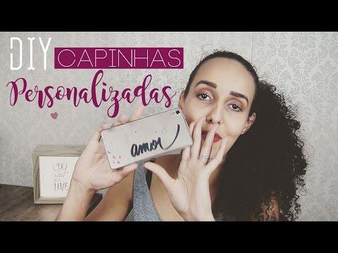 DIY Capinha de celular personalizada | Pricilla Calaça