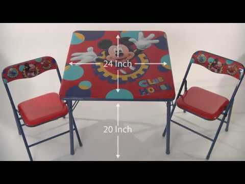 Disney Mickey Mouse Clubhouse Capers Activity Table Set - YouTube