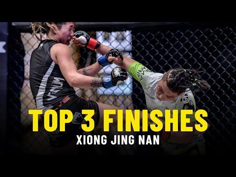 Xiong Jing Nan's Top 3 Finishes