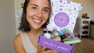 Goddess Provisions Unboxing // High Vibe Lifestyle Goods