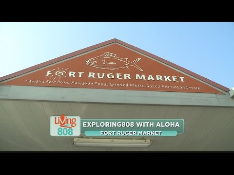 Hawaiian, Filipino, and local foods, Fort Ruger Market has it all!