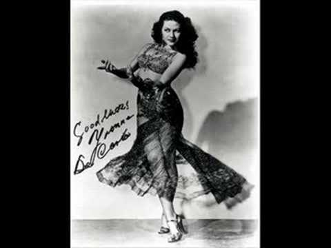 A yvonne de carlo tribute pin up dreamgirl youtube for De carlo arredamenti