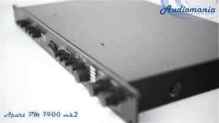 Микшер-усилитель Apart PM 7400 mk2(, 2013-11-10T19:15:18.000Z)