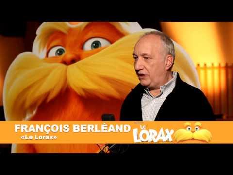 Le Lorax - Making-of Doublage - K.Adams, A.Lamy & F.Berléand [VF|HD]