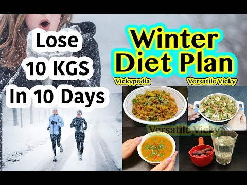 Winter Diet Plan Hindi | How To Lose Weight Fast 10Kg in 10 Days | Winter Meal Plan For Weight Loss