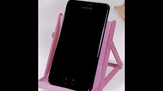 Cara Membuat Sandaran HP Android dari Stik Es Cream IniCaraku