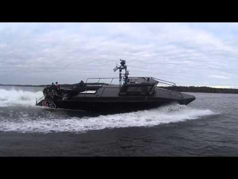 Stridsbåt 90 - Hemfärden från Askö