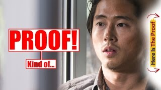 Proof Glenn Is ALIVE?! I Say... YES! #GlennLives The Walking Dead Season 6