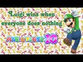 Mario Party 10 - Luigi Wins When Everyone Does Nothing