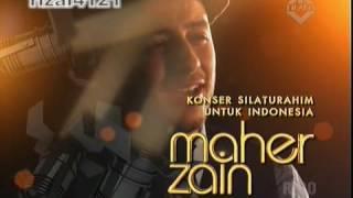 "Maher Zain ""Konser Silaturahim Untuk Indonesia"" Part 4 MP3"