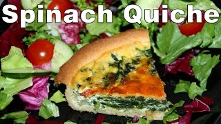 How To Make Spinach And Red Onion Quiche Recipe