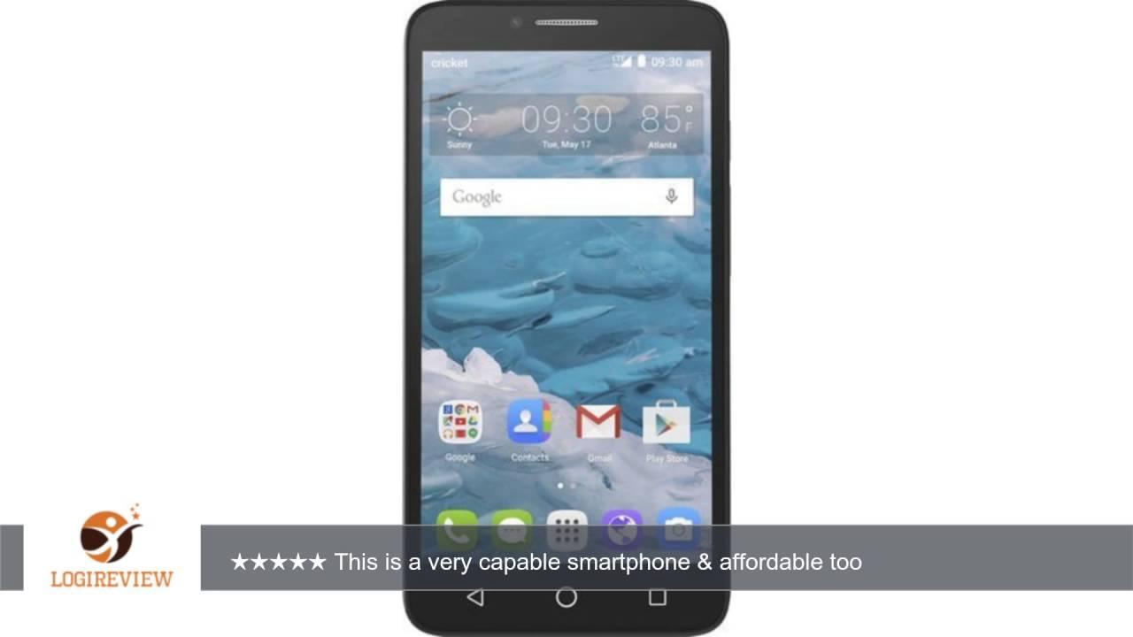 Cricket Wireless Alcatel OneTouch Flint 4G LTE 5 5