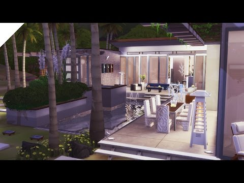 The Sims 4: Speed Build | Luxury Beach Retreat