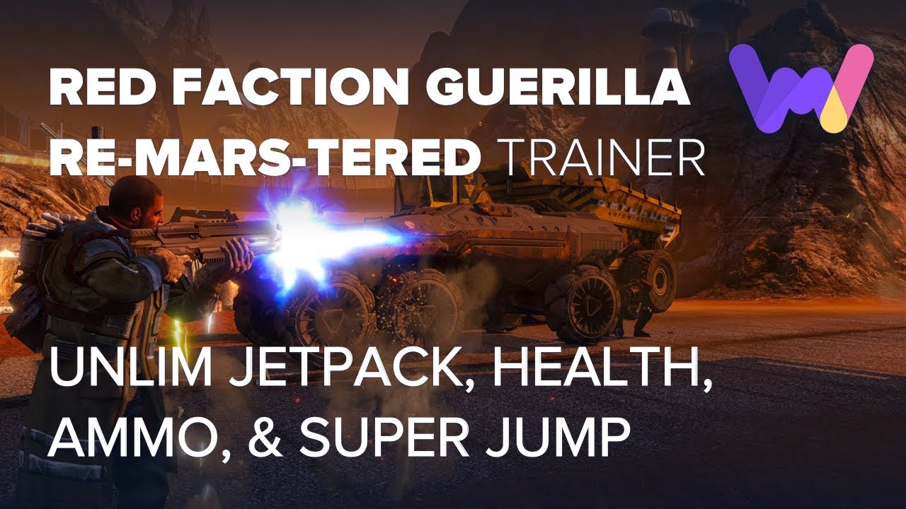 red faction guerrilla trainer