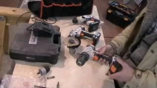 аккумуляторный инструмент DEXTER 18в