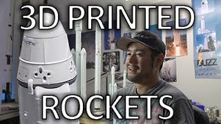 Building detailed SpaceX Falcon 9/Heavy scale models
