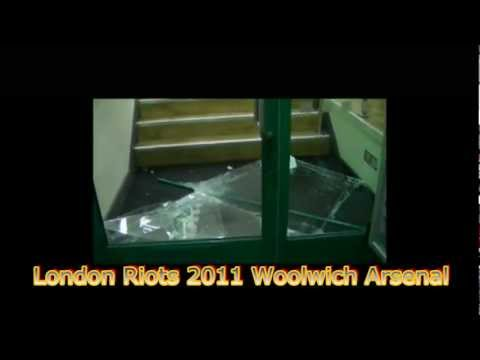 UNSEEN: Rioters Eye-View Camera Angle of London Riots Woolwich Arsenal