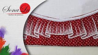 Barrado Transparente em Tecido – Sonalupinturas