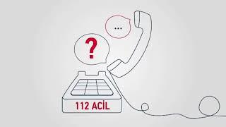 112 Acil'e yapılan ihbarların çoğu asılsızdır. 112 Acil'i aramayı gerektirecek bazı durumlar: